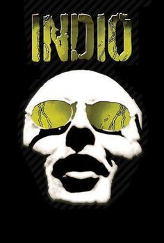Resultado de imagen para imagenes de indio solari Rock Roll, Valar Dohaeris, Cool Bands, Michael Jackson, Music Artists, My Music, Stencils, Skull, Cartoon