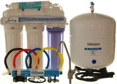 iSpring High Capacity Under Sink Reverse Osmosis Drinking Water Filtration System and Ultimate Water Softener Reverse Osmosis Machine, Reverse Osmosis Water Filter, Reverse Osmosis System, Best Water Filter, Drinking Water Filter, Water Filters, Water Filtration System, Water Systems, Brushed Nickel Faucet