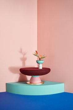 This Bright, Funky Furniture Was Inspired By Memphis Design—and Mushrooms - Adventures in Interior Design - Curbed Art Furniture, Funky Furniture, Luxury Furniture, Furniture Design, Outdoor Furniture, Furniture Upholstery, Upholstery Repair, Upholstery Tacks, Upholstery Cleaning