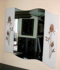 Δημιουργία μου σε γυαλί-υπάρχει δυνατότητα διαφοροποιήσεων. Oversized Mirror, Furniture, Home Decor, Decoration Home, Room Decor, Home Furnishings, Home Interior Design, Home Decoration, Interior Design