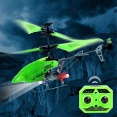 Helicóptero teledirigido RC Night Hunter