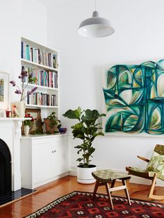 The St Kilda home of Gregg Smith and Orlando Mesiti of Scout House. Photo – Annette O'Brien. Production – Lucy Feagins.