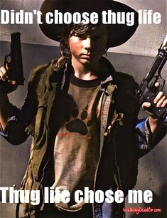 The Walking Dead // HE IS GONNA REALLY BE A BADASS IN OCTOBER ** CAN'T WAIT** GOT MORE BALL'S THAN HIS DAD!!!!!!!