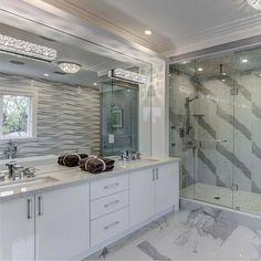 Beautiful shower remodel Via IG @grand_interiors_ #InteriorDesign #DecorativeHardware #HomeDecor #DIY #Remodel #RealEstate #Architecture #InstaHome #LuxuryHomes #Kitchen #HomeIdeas #HomeStyling #HomeRenovation #HomeDesign #HomeInspiration #DreamHome #ArchiLovers #BathroomDesign #BathroomRemodel #NewShower #ModernHome #NewConstruction