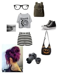 """""""tonight alive whoop whoop!"""" by thebands3xualgirl ❤ liked on Polyvore featuring Converse, Nikon, Filson, Muse and Forever New"""