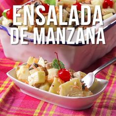 Ensaladas Dogs pet world Mexican Dessert Recipes, Appetizer Recipes, Fresh Fruit Salad, Food Porn, Good Food, Yummy Food, Cooking Recipes, Healthy Recipes, Sausage Recipes