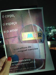 """Armazém de Ideias Ilimitada: """"O corpo, o espaço e o amor"""" -  Exposição de Migue..."""