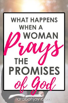What would happen if you regularly prayed the promises of God? Well today is the day to find out! Check out our resource - 40 days of praying God's promises! | praying the promises | praying the promises of the cross | praying woman | prayer tips | spiritual growth | christian living || Arabah Joy #pray #prayers Prayer Scriptures, Bible Prayers, Prayer Quotes, Faith Quotes, Bible Verses, Scripture Images, Courage Quotes, Bible Quotes, Prayers For Strength