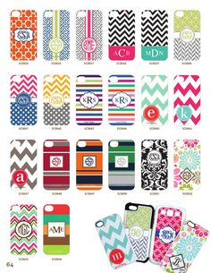 Schedule a party now and close by the end of October to get a free phone case on top of everything you will earn! www.initialoutfitters.net/12771 Send me a message and start picking out your design!