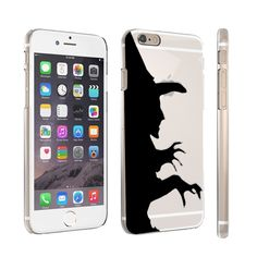 Wicked Witch iPhone 6 Plus Rubber Case. iPhone 6 Plus protective crystal Clear Rubber Case with custom designer image. Slim style case keeps your iPhone portable. Form fitted snap-on case fits iPhone 6 Plus. Easy access to all features. Premium quality iPhone cover.