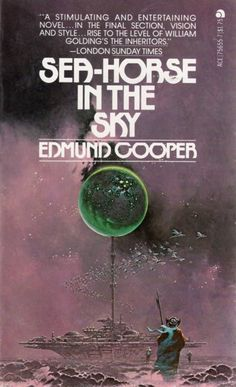 David Bergen's cover for the 1978 edition of Sea-Horse in the Sky (1969), Edmund Cooper