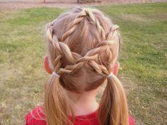 4th of july hair idea
