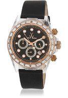 W Tw9011bkpg Black/Black Chronograph Watch