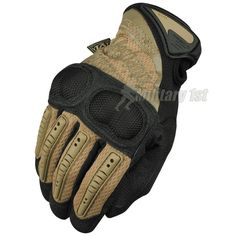 Mechanix Wear M-Pact 3 Gloves. Coyote colour. Heavy-duty, all-purpose gloves for military professionals. Provide superior protection, extra grip & optimum durability thus the most advanced technology & materials.