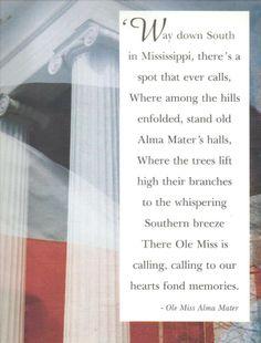Ole Miss Alma Mater