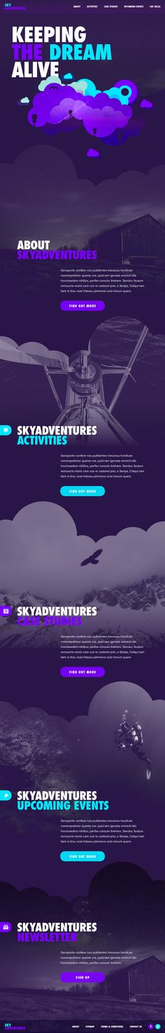 Behance :: Life in the Clouds by Jonathan Quintin