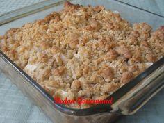 Quick Recipes, Apple Recipes, Bread Recipes, Cooking Recipes, Healthy Recipes, Apple Crumble Recipe, Confort Food, Bon Dessert, Low Sugar