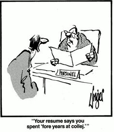 Proofread your documents at least three times. Spellcheck and proofread. Herman Comic, American Humor, English Teaching Resources, Job Interview Tips, Resume Tips, Resume Cv, Friday Humor, Career Coach, Read Later