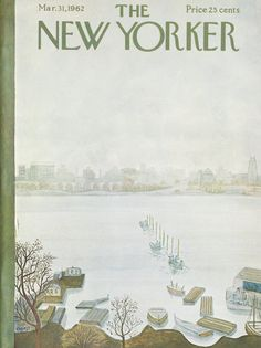 The New Yorker - Saturday, March 31, 1962 - Issue # 1937 - Vol. 38 - N° 6 - Cover by : Ilonka Karasz