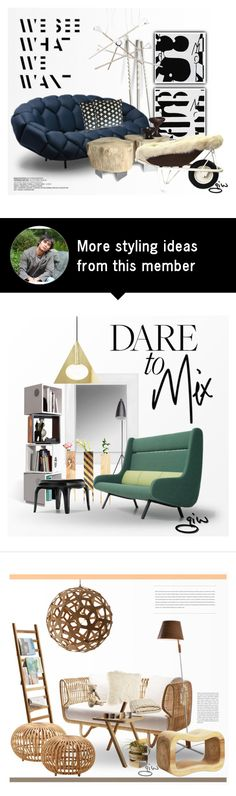 """""""foxy..."""" by ian-giw on Polyvore featuring interior, interiors, interior design, home, home decor, interior decorating, Terzani, Identity, Ronan + Erwan Bouroullec and Standard Socket"""