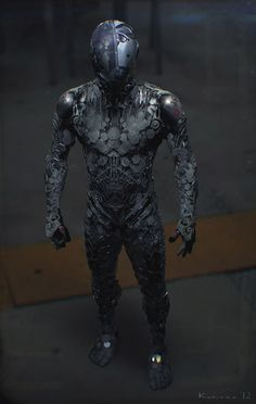 Awesomely Detailed Futuristic Sci-Fi Suit Designs - News - GeekTyrant