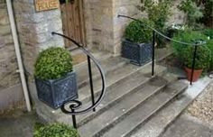 Wrought iron handrails by Newton Forge                                                                                                                                                                                 More