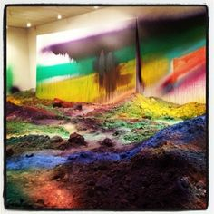 Katharina Grosse's Wunder-Block at the Nasher is the Classiest Acid Trip You Can Take