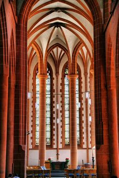 Iglesia del Espíritu Santo en la plaza del Mercado de Heidelberg Visit Germany, Bavaria, Some Pictures, Frankfurt, Austria, Switzerland, Plaza, Country, Iglesias