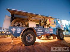 Dakar Rally T4 class truck/diesel