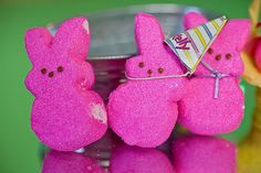 Yes, You Can: Make Your Own Peeps! Easter Peeps, Easter Candy, Make Your Own, How To Make, Holiday Parties, Wicked, Dinosaur Stuffed Animal, Picnic, Basket