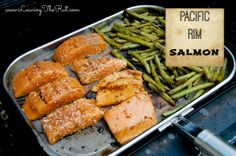Finger lickin' Salmon, seriously!! http://leavingtherut.com/finger-lickin-salmon-seriously/ muffin tins. www.leavingtherut.com  Pacific Rim Salmon. The best salmon recipe I have found to date!! It is sweet and savory and perfect for the grill this summer paired it with some grilled veggies. www.leavingtherut.com