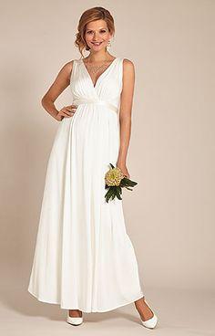 Anastasia Maternity Wedding Gown (Ivory) by Tiffany Rose 6e4e7467ada