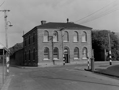 mount cook police station in 1956