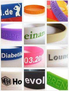 Hier einen Überblick über die tolle ownband-Armband-Gestaltungsvielfalt. Lassen Sie sich inspirieren und gestalten Sie Ihr individuelles Silikonarrmband auf ownband.de         #ownband  #individuellesSilikonarmband #doityourself