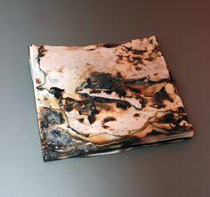 ANYA GALLACCIO Untitled 'snow' (2013) Burnt paper 40 cm x 40 cm x 3.5 cm