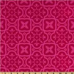 Michael Miller Andalucia Moorish Tiles Fuchsia  Item Number: FI-630