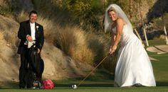 Palm Springs Weddings. Indian Wells Country Club. www.indianwellsclub.com.  Fuchsia Centerpieces, Desert Weddings, Black White and Fuchsia Wedding, Country Club weddings, golf, pink flowers