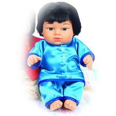 Chinese Boy Doll - Children increase cultural awareness as they play with multi-ethnic dolls from around the world! This Chinese Boy doll comes dressed in a traditional outfit with rich, authentic details that bring dramatic play to life.