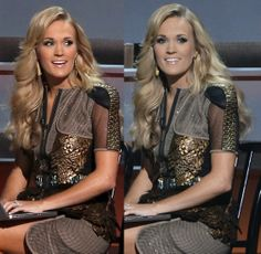 Carrie Underwood's hair at the cma 2013
