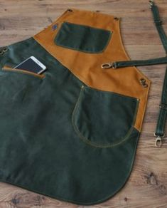 Farmer Outfit, Custom Aprons, Barber, Sushi, Couture, Sewing, Awesome, Leather, Handmade