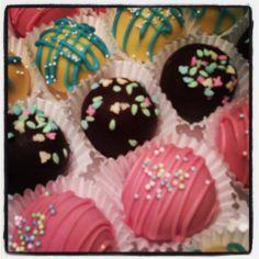 Spring Cake Balls #AllForCake  Facebook.com/AllForCake