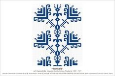 Semne Cusute: MOTIVE: floricele (P9, M3) Embroidery Patterns, Diy And Crafts, Cross Stitch, Tapestry, Logos, Romania, Traditional, Drawing, Flowers