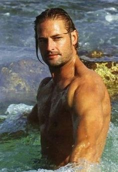 Josh Holloway. I may have pinned this before, but it's so pretty.