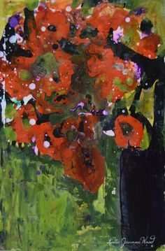 Katherine Jeanne Wood - 9x6 Flower Series No 199 01