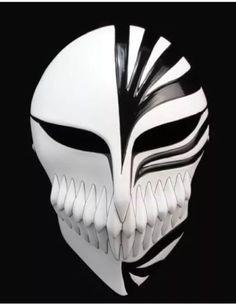 Japanese anime BLEACH ( Kurosaki Ichigo ) Cosplay Masquerade Ball Mask