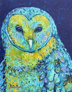 """Blue Owl"" par Ricky Martin"