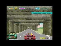 Outrun (Arcade) - 1 credit challenge (Tuber's highscore challenge) - YouTube