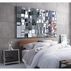 perspective mirror in view all accessories | CB2