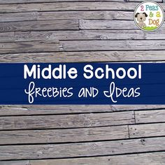 2 Peas and a Dog: Middle School Freebies and Ideas on Pinterest. Middle School Literacy, Middle School Libraries, High School Classroom, Middle School Teachers, I School, First Day Of School, Classroom Ideas, School Magic, Classroom Resources