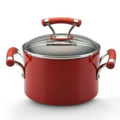 Circulon Contempo Red Dishwasher Safe Nonstick 3-Quart Covered Saucepot by Meyer. $39.95. Lifetime customer satisfaction - guaranteed. Comfortable silicone and stainless steel handles are double riveted for extra strength and are oven safe to 400° f. Features a total food release system for extraordinary food release and exceptional durability. Preparing your favorite pasta sauces for an evening meal or heating soup for a hearty lunch has never been easier.
